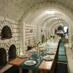 Rendezvény helyiség a pincében / Dining Room in the Cellar
