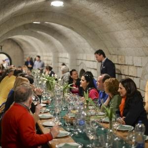 Borkóstoló és borvacsora / Wine Tasting and Dinner in the Cellar