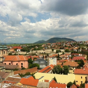 Eger és a Nagy Eged hegy / Town of Eger and the Nagy Eged Hill