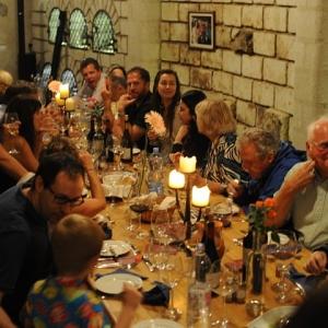 Borvacsora a pincében / Wine Dinner in the Cellar