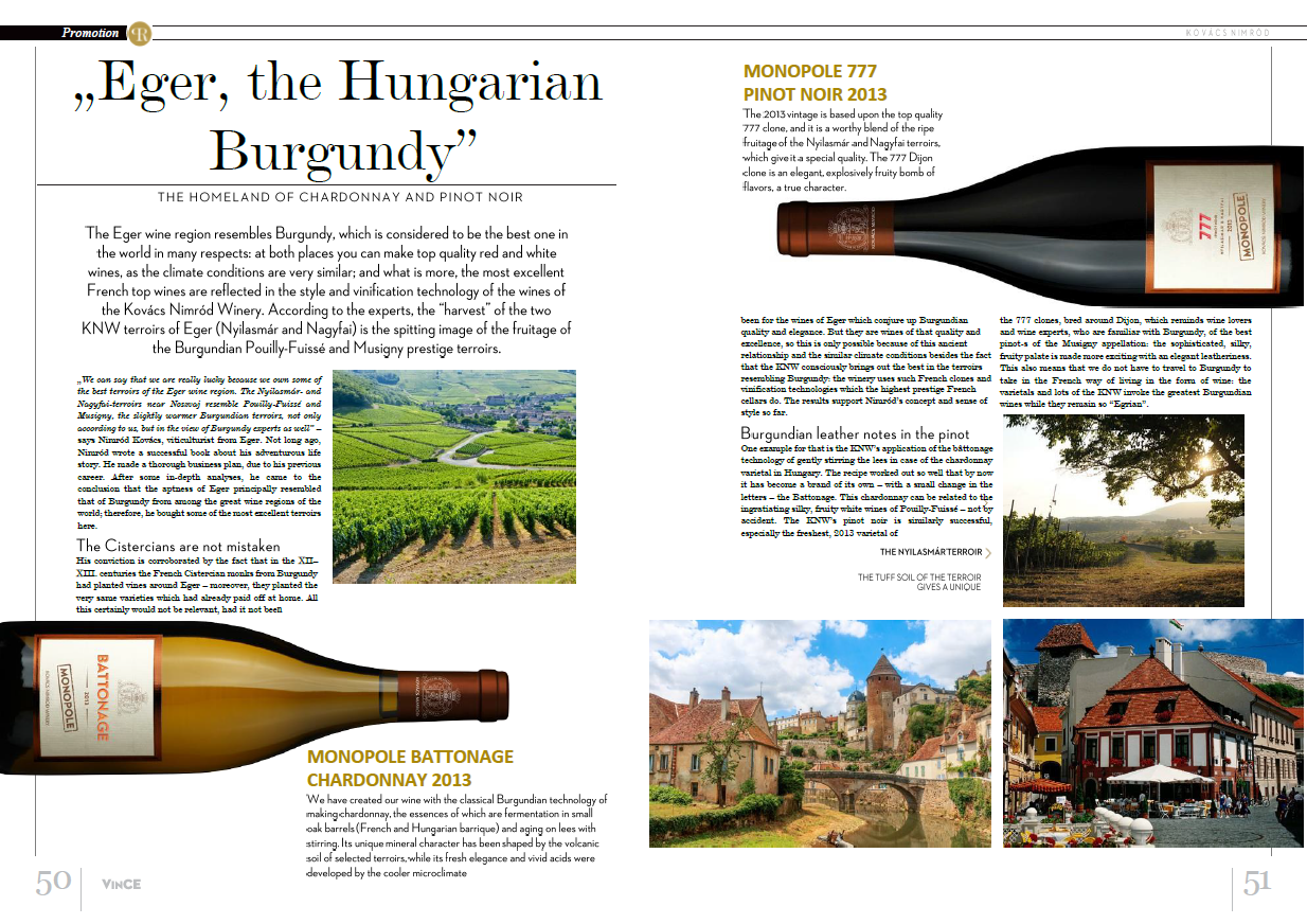Eger the Hungarian Burgundi