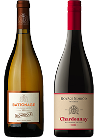 Chardonnay két karaktere